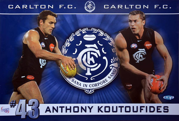 Anthony Koutoufides Champion Poster
