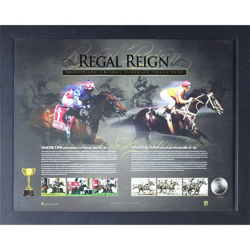 Regal Reign Framed Print