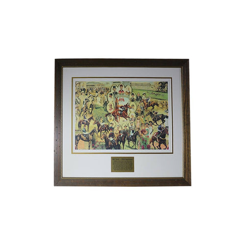 VRC Derby - 150th Anniversary Framed