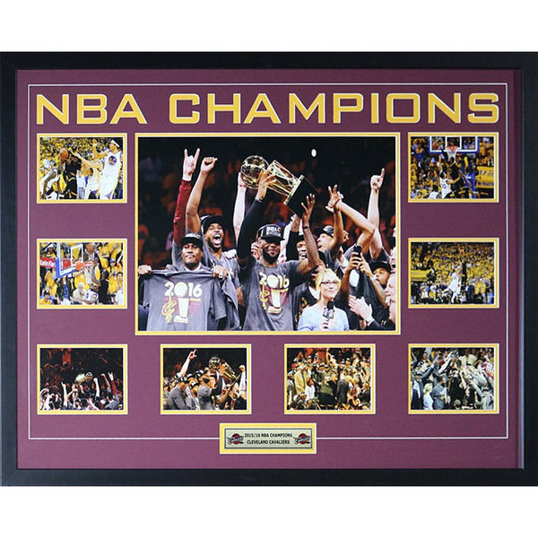 Cleveland NBA Champions Framed Collage