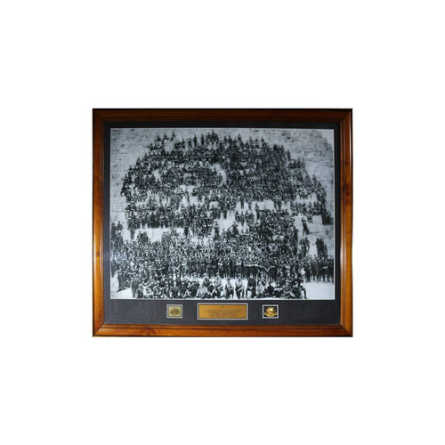 11th Battalion Anzac Pyramid Framed