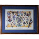 AFL/Chas Brownlow Trophy - Legends Of The Brownlow - Signed & Framed