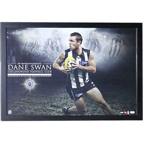 Dane Swan Signed Brownlow Print