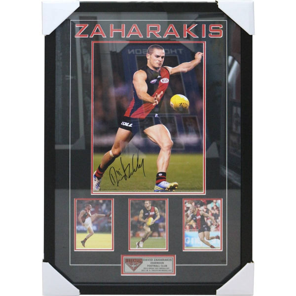 ESSENDON- David Zaharakis -  Framed with Signature