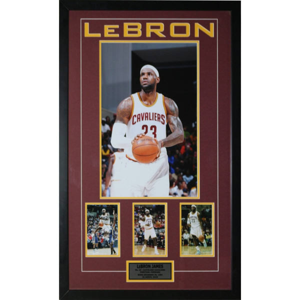 Lebron James - Cleveland Cavaliers Framed Piece