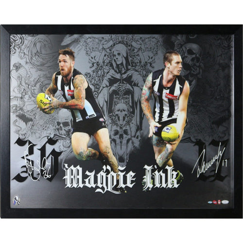 Magpie Ink - Dane Swan And Dayne Beams Print Signed And Framed