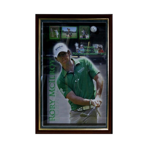 Rory McIlroy Framed Piece - Golfing Great/Signed