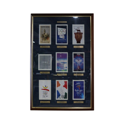 Australian Olympic Champions 9 Signatures - Framed