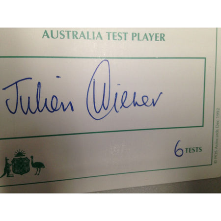 Tim Paine /Captain of Australian Test Team for Ashes 2019/Signed