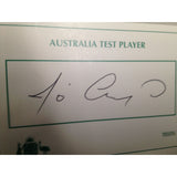 Australian Test Cricketer Card Signed - Jo Angel