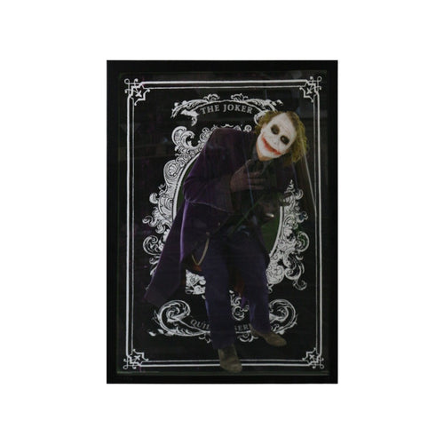 The Joker - Card Background - Framed