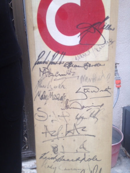 Signed County Bat Large