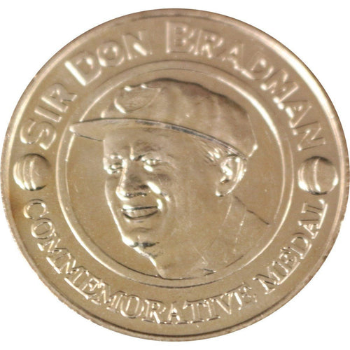 BRADMAN-Sir Don Bradman - Commemorative Medal