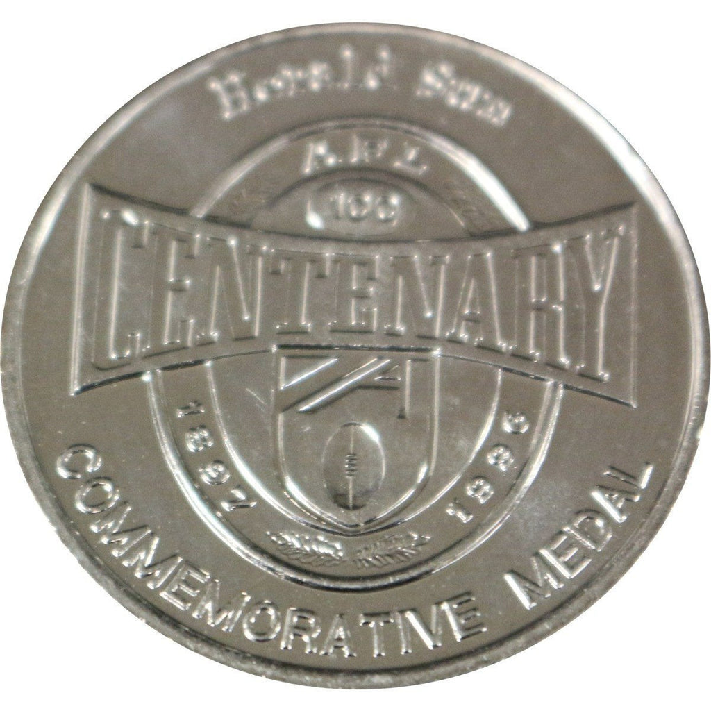 Afl Centenary Commemorative Medal - Herald Sun
