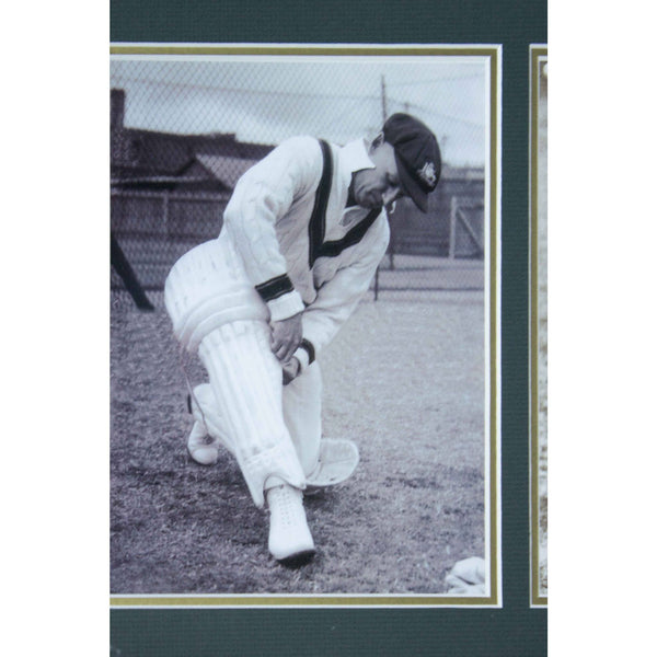 Sir Donald Bradman 5 photos series