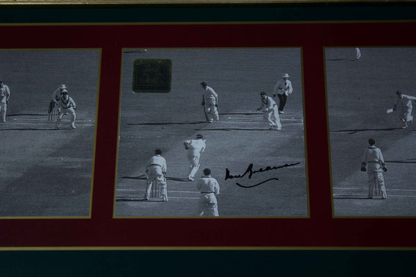 BRADMAN-Sir Donald Bradman Frame by Frame signed
