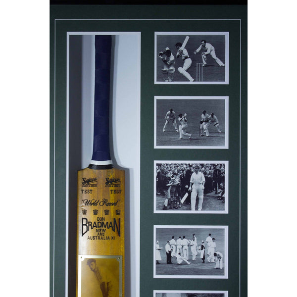 Sir Donald Bradman Signed Bat
