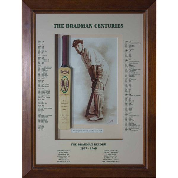 Bradman Centuries Mini Bat