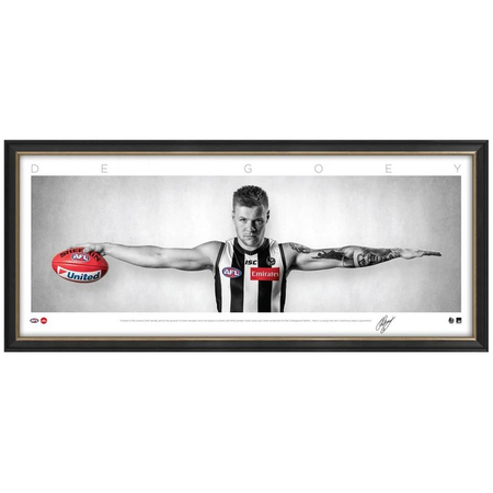 FREMANTLE-Nat Fyfe 2019 Brownlow Medal Sportsprint/Framed
