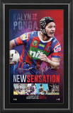 NRL-KALYN PONGA SIGNED 'NEW SENSATION'