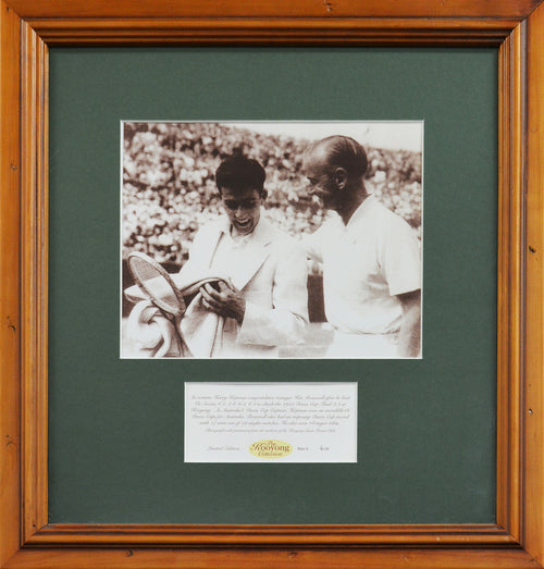 Ken Rosewall 'Kooyong Collection' Framed Photograph