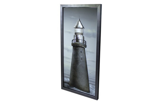 Lighthouse 3D Framed Canvas