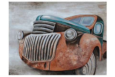 Old Ute 3D Oil Painting