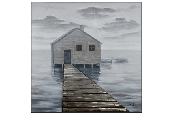 Pier to Boat House 3D Art