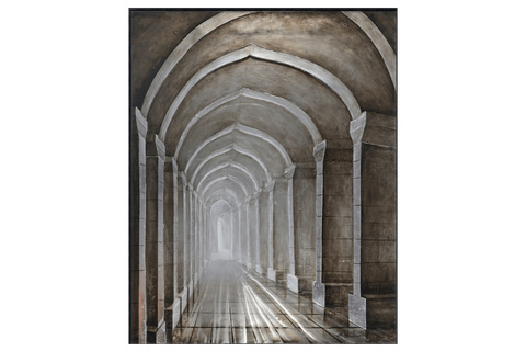 Archways 3D Framed Canvas
