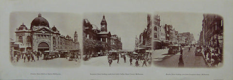 Vintage Photograph Prints of Melbourne in the Early 20th Century