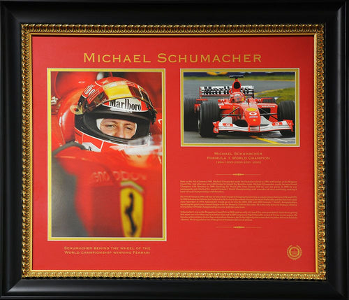 Michael Schumacher World Champion Tribute