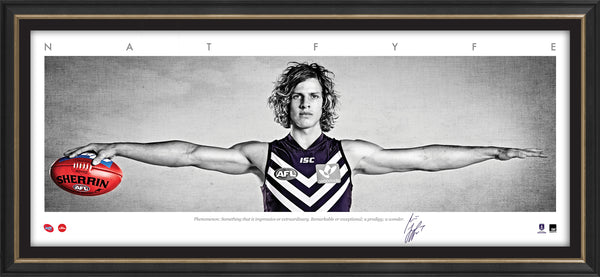 FREMANTLE-NAT FYFE MINI WINGS/FRAMED