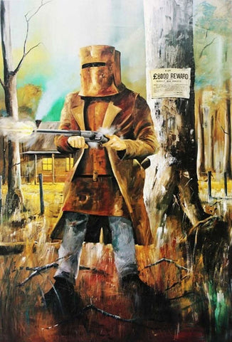 Ned Kelly Painting Print