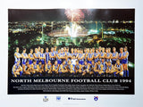 North Melbourne 1994 Team Poster