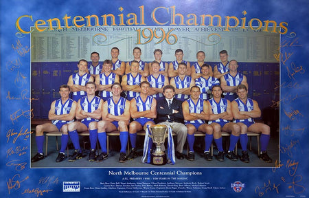 North Melbourne 1997 Team Poster