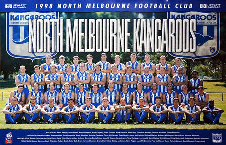 North Melbourne 1996 Premiers Team Poster