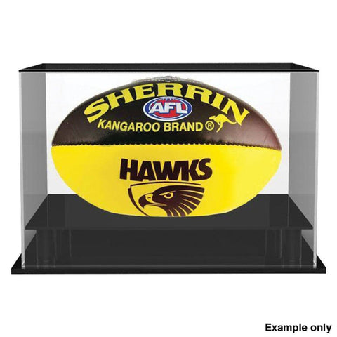 AFL Football Perspex Display Case