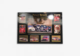 Peter Brock 'King Of The Mountain' Poster on Art Board