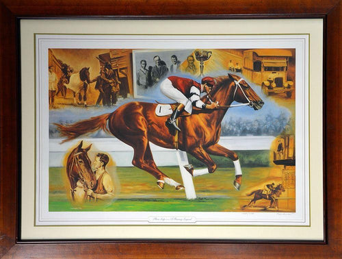 Australian Horse Racing Phar Lap - A Racing Legend- Signed