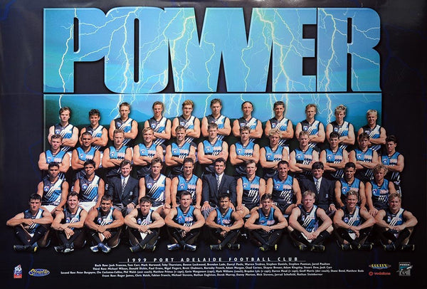 Port Adelaide 1999 Team Poster