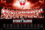 Sydney Football Club Official 2016 AFL Team Poster