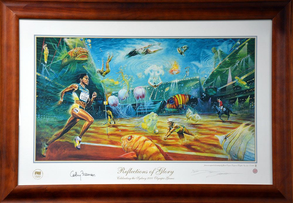 Cathy Freeman Reflections Of Glory Signed