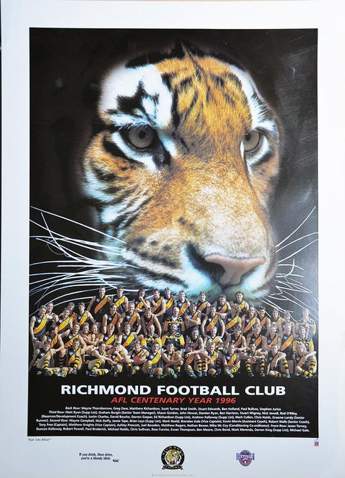 Richmond 1996 Team Poster