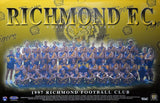 Richmond 1997 Team Poster