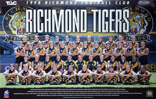 Richmond 1998 Team Poster