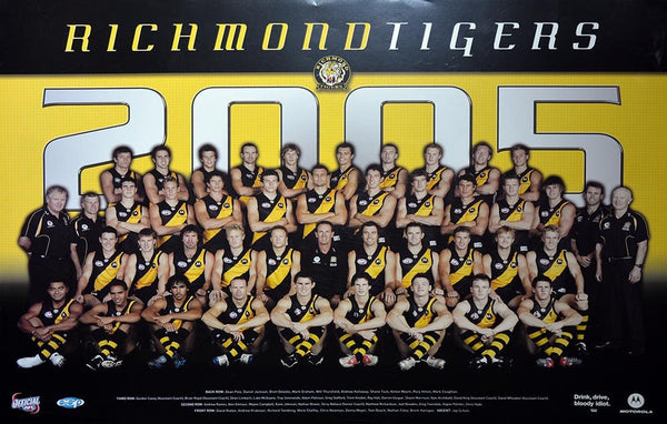 Richmond 2005 Team Poster