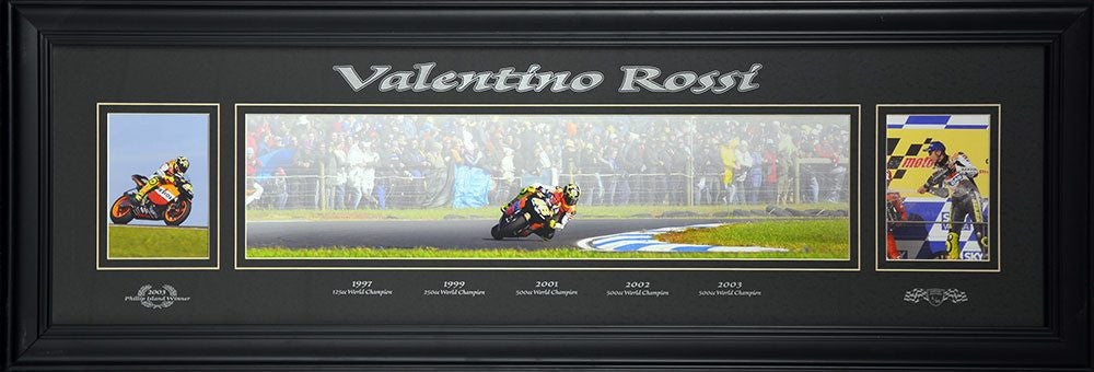 Valentino Rossi World Champion Panoramic
