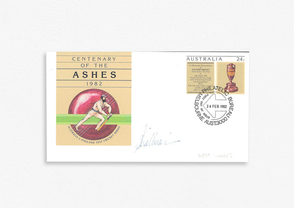West Indies Test Cricketer Envelope Signed - S. Williams