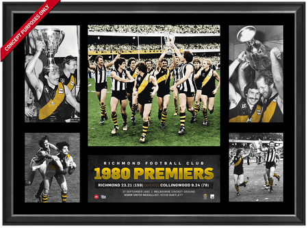Hawthorn 4 Player Sports Print