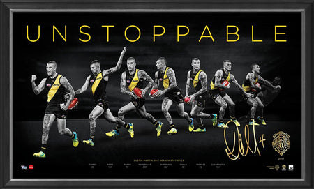 DUSTIN MARTIN UNSTOPPABLE BROWNLOW PRINT